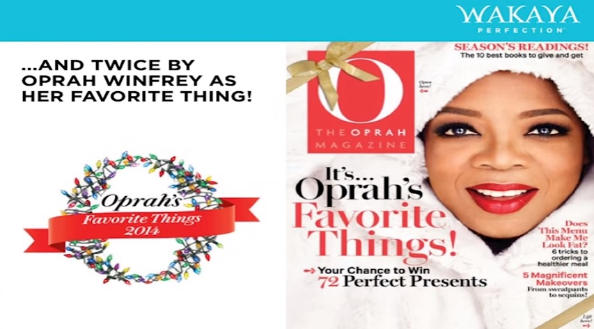 Wakaya Perfection Oprah's Favorite Things 2014